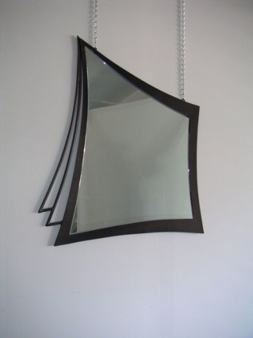 modern abstract mirror